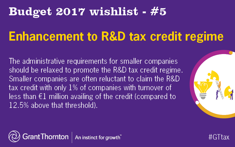 Enhancement to R and D tax credit