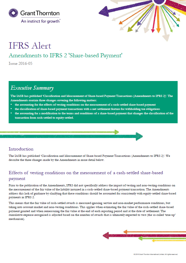 IASB issues IFRS 17 Insurance Contracts
