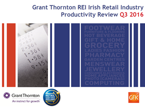 Irish Retail Industry Productivity Review Q3 2016