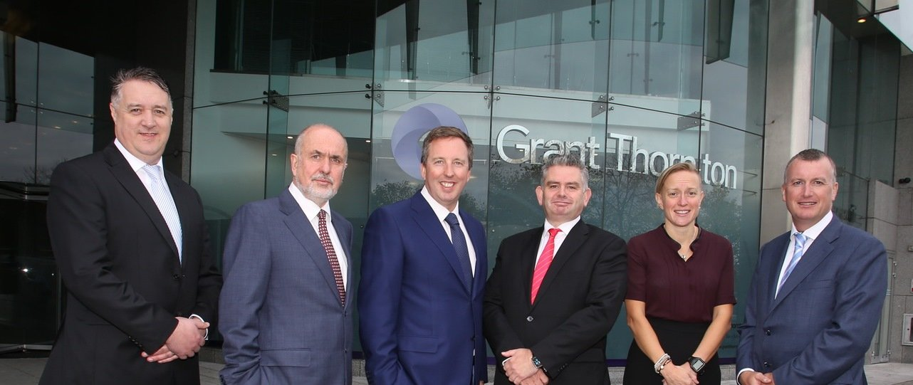 Pic (l-r):  Michael Shelley, Greg Sparks, Paul McCann (Managing Partner), Jim Mulqueen, Sinead Donovan and Michael McAteer